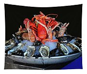 A Seafood Orgy Tapestry