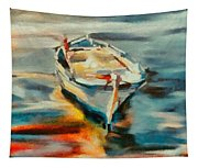 A Single Boat Tapestry
