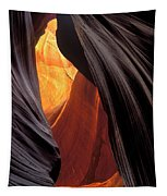 A Slot Canyon View Tapestry