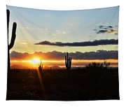 A Southwest Morning  Tapestry