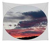 A Splendid Moment-oval Tapestry