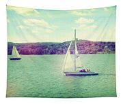 A Summer Sailing Adventure Tapestry