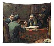 A Theological Debate Tapestry
