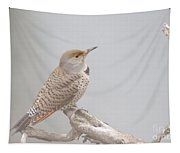 A Thrush Posing  Tapestry