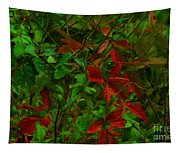 A Touch Of Christmas In Nature Tapestry