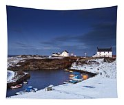 A Village On The Coast Seaton Sluice Tapestry