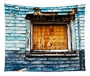 Abandoned Blue Tapestry