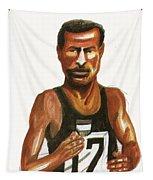 Abebe Bikila Tapestry