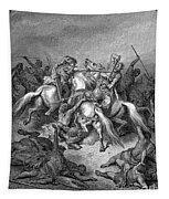 Abishai Saving David Tapestry