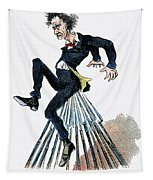 Abraham Lincoln: Cartoon Tapestry