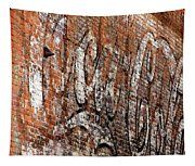 Abstract Coca Cola Sign Tapestry