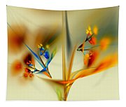 Abstract Flower 2 Tapestry
