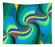 Abstract Fusion 108 Tapestry