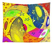 Abstract Fusion 110 Tapestry