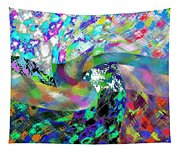Abstract Fusion 15 Tapestry