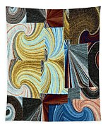 Abstract Fusion 45 Tapestry