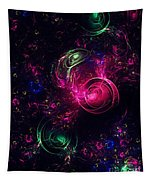Abstract Roses Tapestry