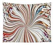 Abstract Seashells Tapestry