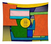 Abstract Shapes Color One Tapestry