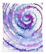 Acrylic Fractals Tapestry