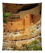 Adobe Cliff Dwelling Tapestry