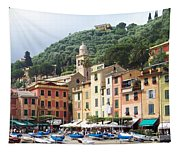 Afternoon In Portofino Tapestry