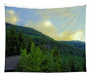 Ah To Live On Vail Mountain Tapestry