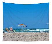 Ahhh Vacation Tapestry
