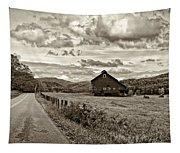 Ah...west Virginia Sepia Tapestry