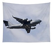 Airplane In The Sky Tapestry