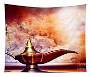 Aladdin Lamp Tapestry