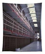 Alcatraz Cell Block Tapestry