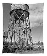 Alcatraz Penitentiary Water Tower Tapestry