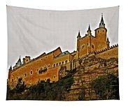 Alcazar De Segovia - Spain Tapestry