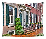 Alexandria Row Houses Tapestry