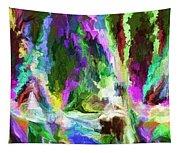 Alien Garden 082012 Tapestry