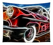 All American Hot Rod Tapestry