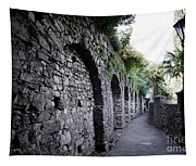 Alley With Arches Tapestry