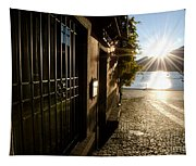 Alley With Sunshine Tapestry