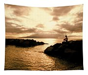 Alone With Your Thoughts Tapestry