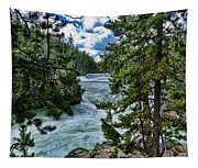 Along The River Tapestry