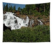 Alpine Falls Lake Tahoe II Tapestry