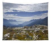 Alps And Road Tapestry