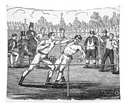 American Boxing, 1859 Tapestry