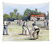 American Cricket, 1882 Tapestry
