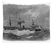 American Steamship, 1870 Tapestry
