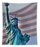 American Welcome Tapestry