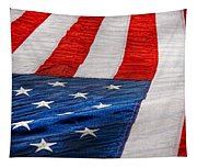 Americana - Flag - Stars And Stripes  Tapestry