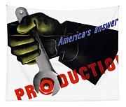 America's Answer -- Production  Tapestry