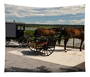 Amish Buggies Tapestry